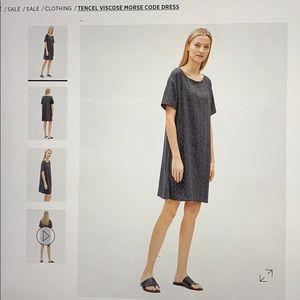 Eileen Fisher Morse Code Dress